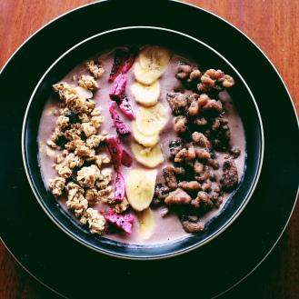 Açai Bowl de desayuno