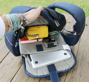 Compartimentos para tu laptop y pertenencias