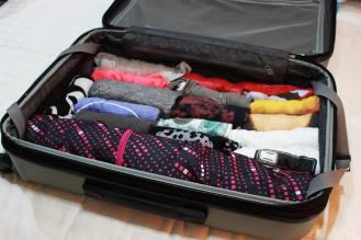 Espacio que ocupa en la maleta